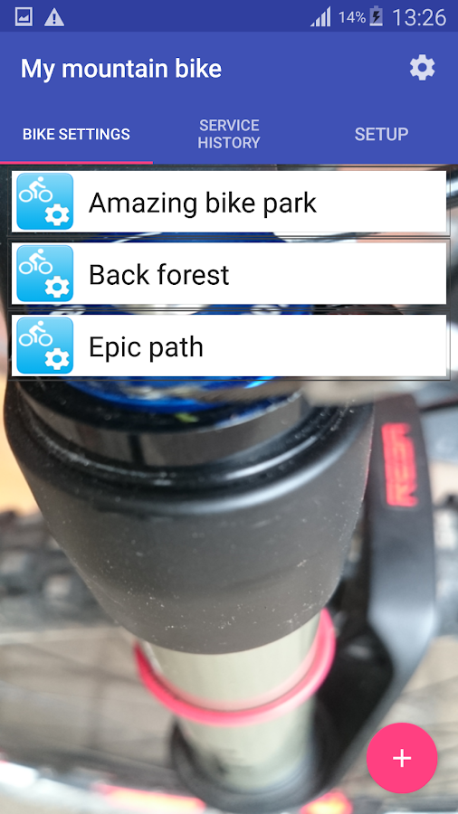 My Mountain Bike- screenshot
