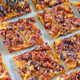 Maple Pancetta Cheddar Cheese Tart