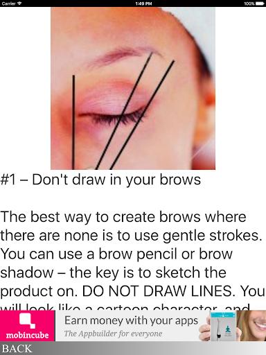 玩免費遊戲APP|下載Eyebrow Dos & Don'ts app不用錢|硬是要APP