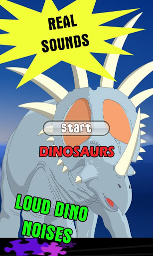 Dino Games for kids free: LOUD
