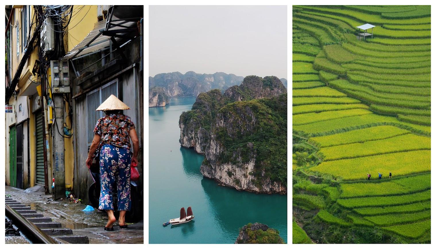 itinerario en Vietnam