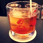 Bourbon Barrel Aged Manhattan