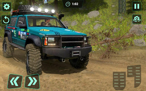 Off-Road 4x4 jeep driving Simulator : Jeep Racing android2mod screenshots 2