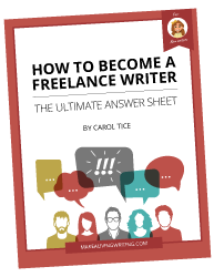 How to Become a Freelance-Writer - The Ultimate Answer Sheet