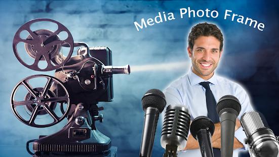 Media Photo Editor – Press Conference Photo Frame - náhled