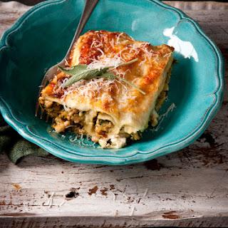 Pork, Pumpkin, Sage and Ricotta Cannelloni Recipe