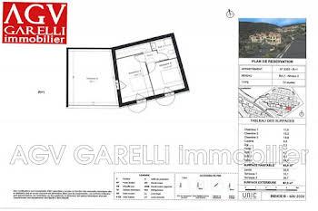 Duplex 4 pièces 86 m2