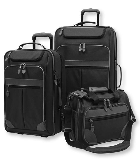 Sportsman's Expandable Luggage Set