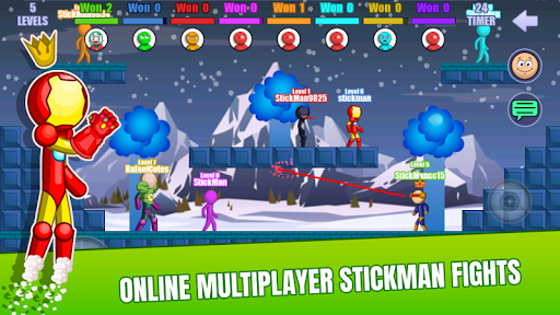 Stick Fight Online: Multiplayer Stickman Battle Apk 1