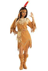Indianklänning med fransar