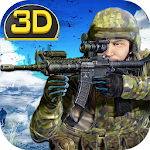 Army Commando Sniper 3D Icon