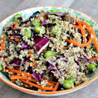 Quinoa & Edamame Spring Salad Recipe