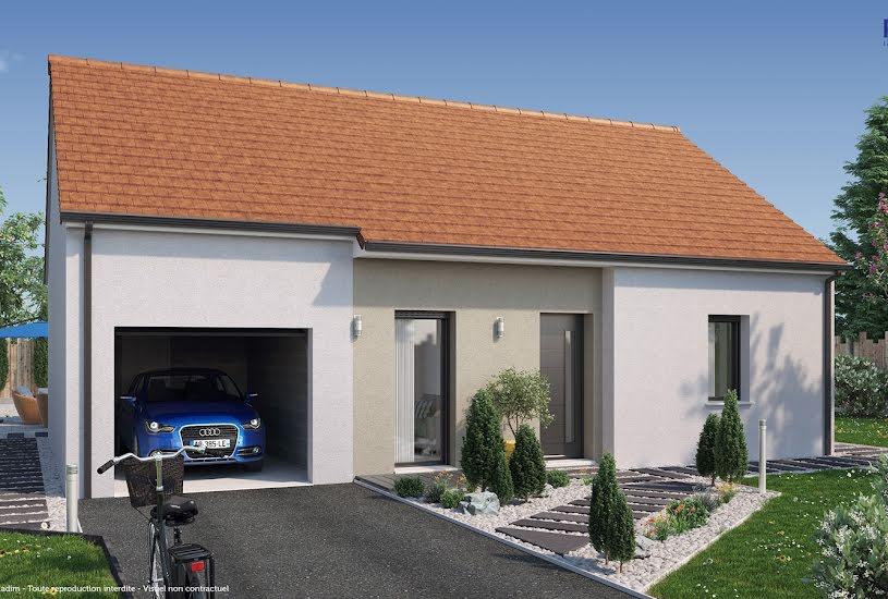 Vente Terrain + Maison - Terrain : 815m² - Maison : 63m² à Montagny-lès-Beaune (21200)