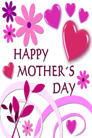 PC u7528 Happy Mothers Day Card 1