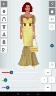 Recolor Fashion Dress Up - náhled