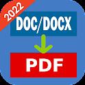 DOCX to PDF Converter icon