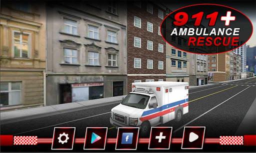 911 Ambulance Rescue Sim 2016
