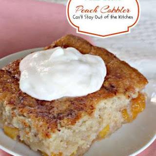 Paula Deen's Peach Cobbler.