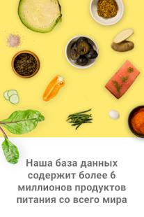 Счетчик калорий Screenshot