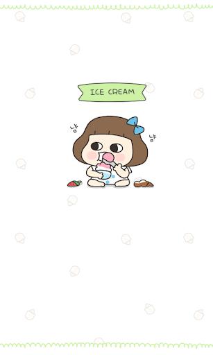 멍옥이_아이스크림 카카오톡 테마