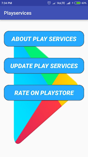 Play services and error(update) 1.2 screenshots 1