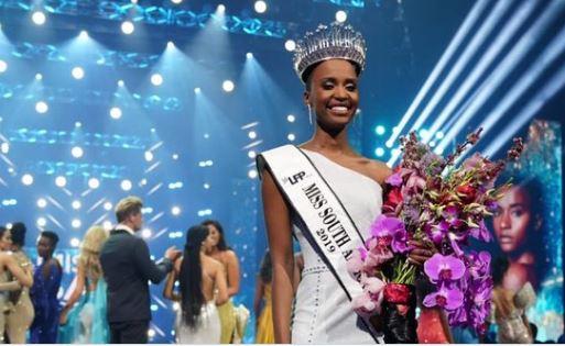 Zozibini is the Miss SA 2019.