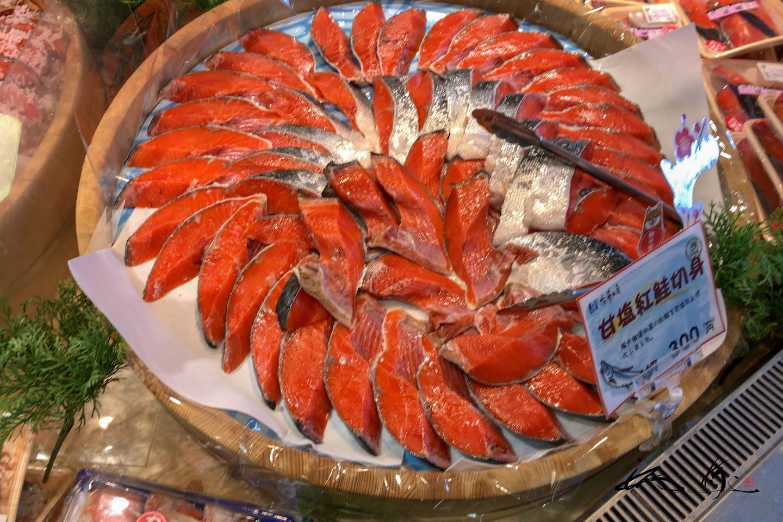 甘塩紅鮭切身