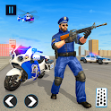 US Police Bike 2019 - Gangster Chase icon