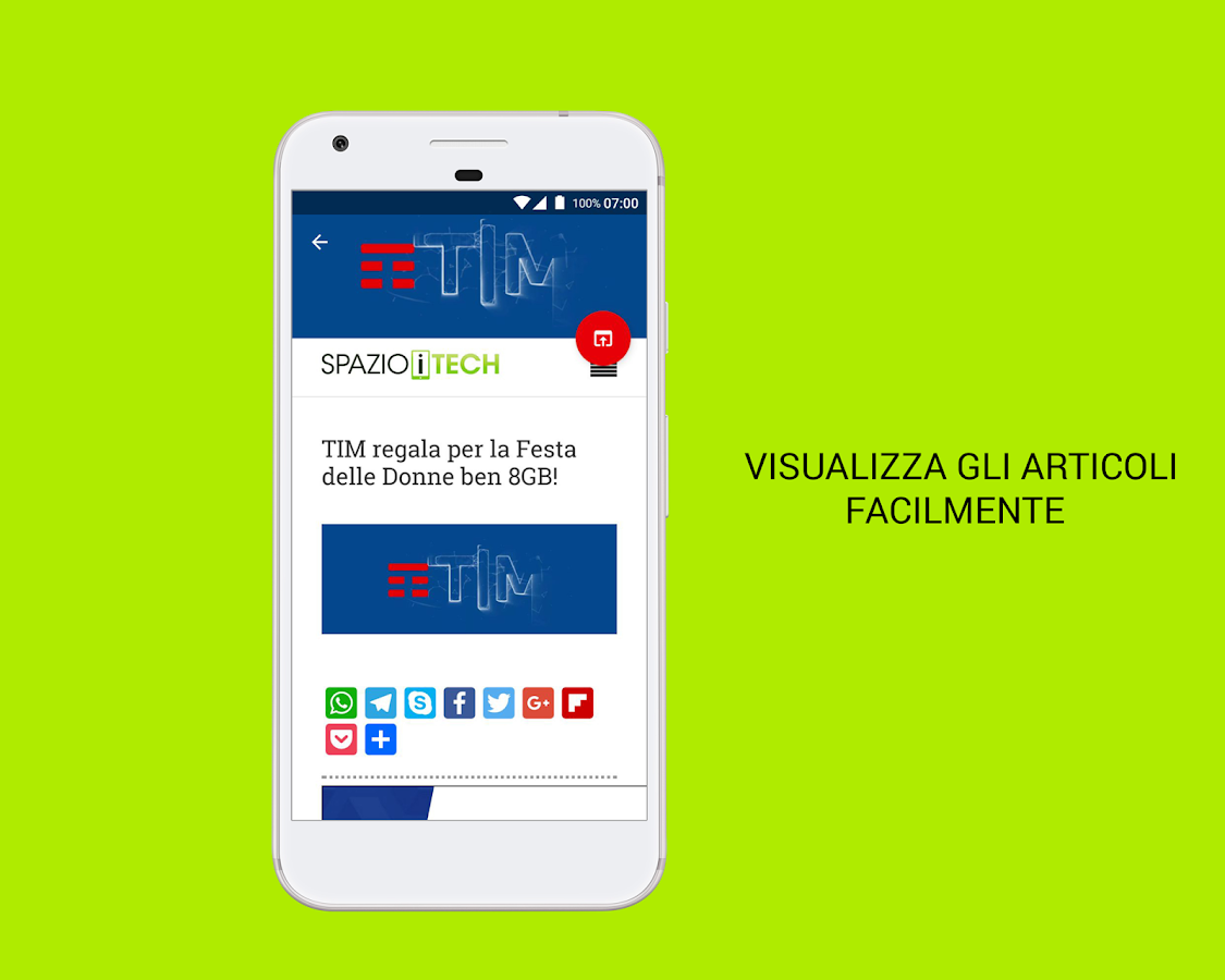 Spazio iTech- screenshot