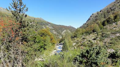 Photo: En montant dans la vallée de la Sabine