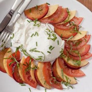 Stone Fruit and Tomato Salad