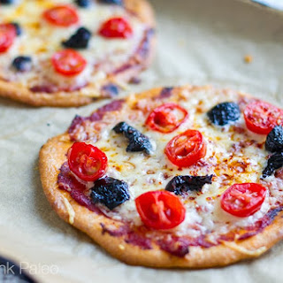 Mini Paleo Crust Pizzas (Nut Free) Recipe