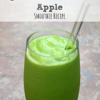 Spinach, Avocado and Apple Smoothie