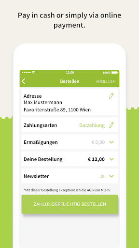 Mjam.at - Online food delivery  screenshots 4