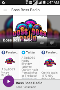 Boss Boss Radio- screenshot thumbnail