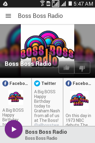 Boss Boss Radio- screenshot