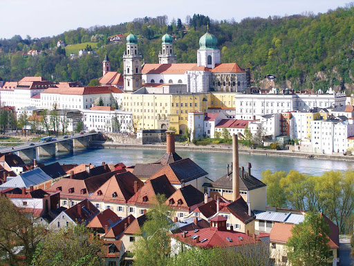 passau-germany-scene.jpg - See the classic architecture of Passau, Germany, on a Uniworld river cruise.