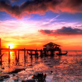 Sunrise Penang by Azira Ahmad - Landscapes Sunsets & Sunrises ( landscapes advertisement female sunrise sunset )