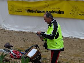 Photo: Georges GOLSE vient de faire valider sa flèche Vélocio