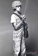 Photo: Chico Anysio interpretou o personagem Lingote, criado em 1972. Lingote era pai de Linguinha, também interpretado pelo ator, e era viciado em remédios.   Na imagem, Chico aparece no programa Chico Anysio Show, da TV Rio