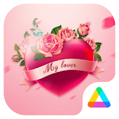 My Lover - Romantic Pink Rose Theme