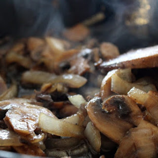 Steakhouse Mushrooms and Onions.