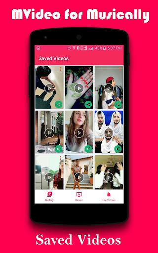 Mvideo Downloader for Musical.ly (TikTok) MVideo_V_6.0 screenshots 1