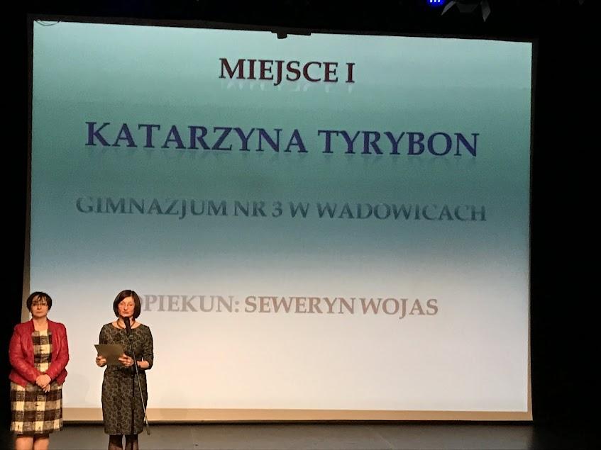 Wielki sukces Kasi Tyrybon