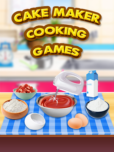 Cake Cooking Maker Games ss1