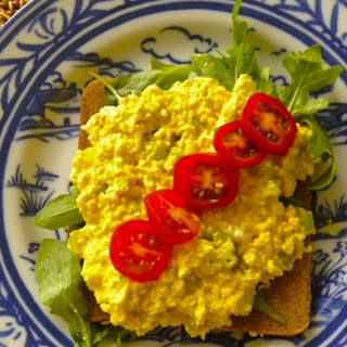 Hold the Egg Salad Aka Vegan Eggless Salad Recipe