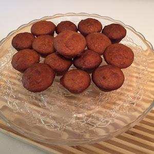 Quinoa Flour Banana Muffins