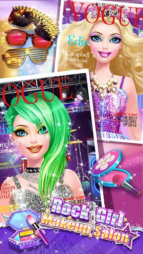 ud83cudf99ufe0fud83dudc67Music Girl Makeup Salon - Rock Star Dress Up screenshots 6