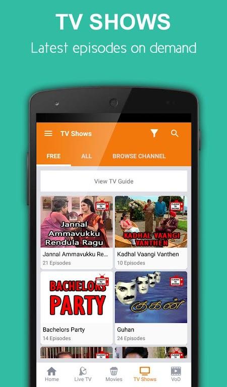 App tamil tv My Tamil
