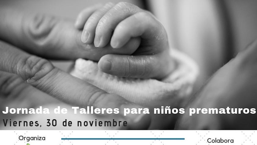 Jornada de Talleres para niños prematuros en InterActúa, Atención Temprana.